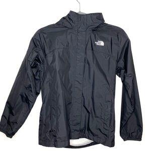 Pristine North Face Girls Hooded Waterproof Jacket